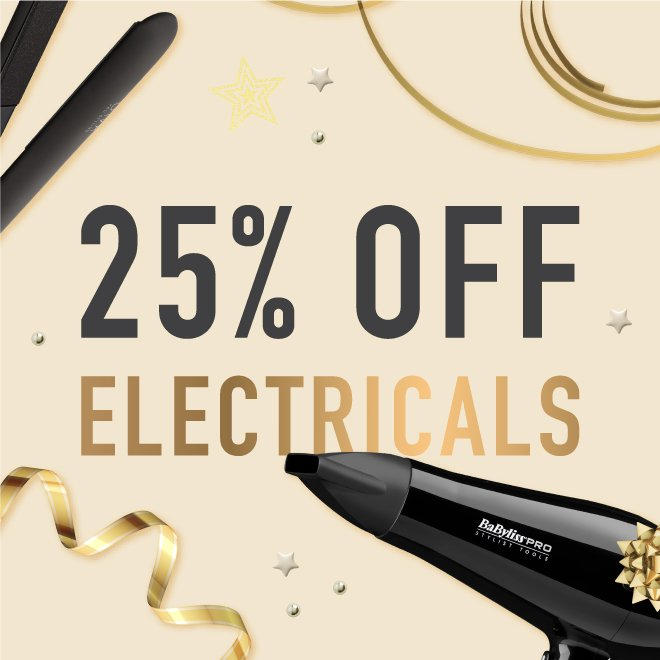 25% off Electricals