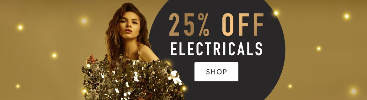 25% off Electricals - Christmas 2019