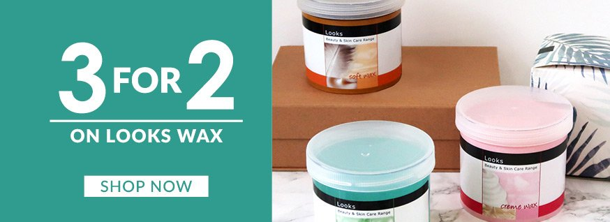 Looks Wax 450g - 3 for 2