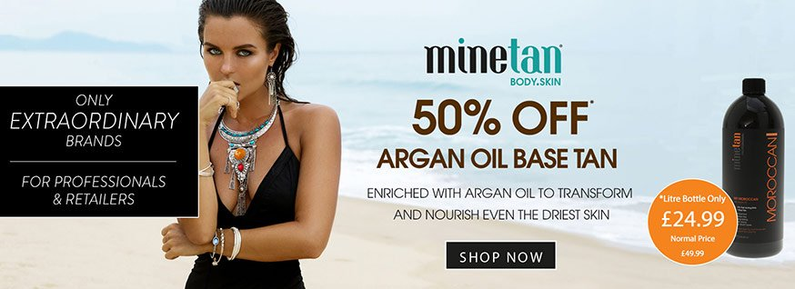 MineTan Moroccan - April 2018 Offer