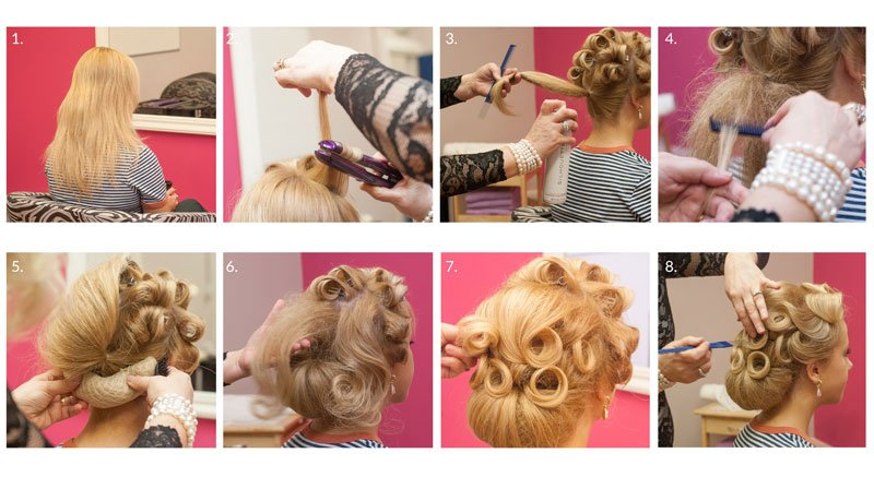 Vintage Bride step-by-step