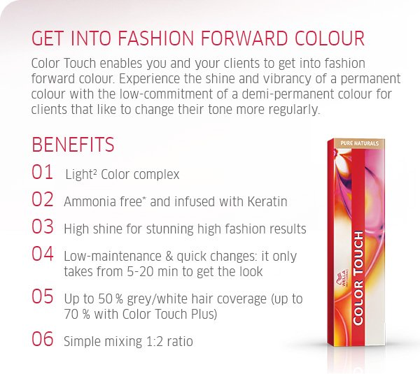 get into fashion forward colour