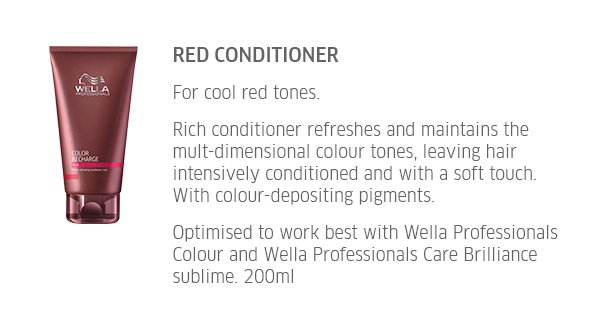 Red Conditioner - cor cool red tones