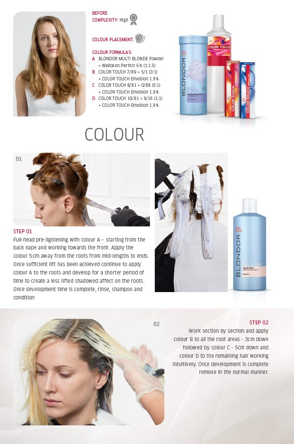 Colour - Step by step