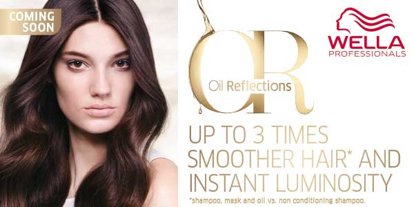 Wella Oil Reflections - up to 3 times smoother hair and instant luminosity