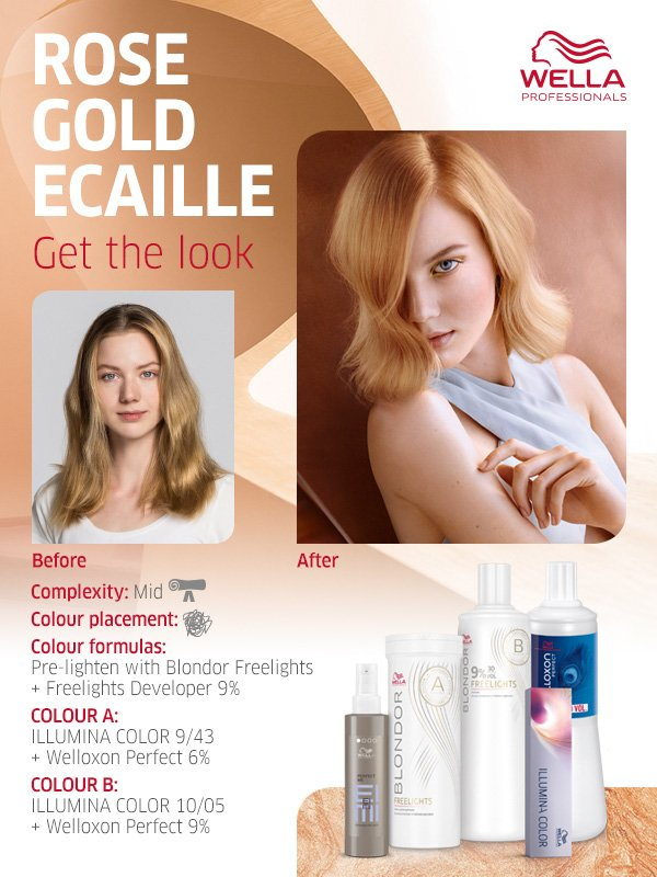 Rose Gold Ecaille - Get The Look