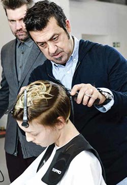 anthony mascolo hair cutting