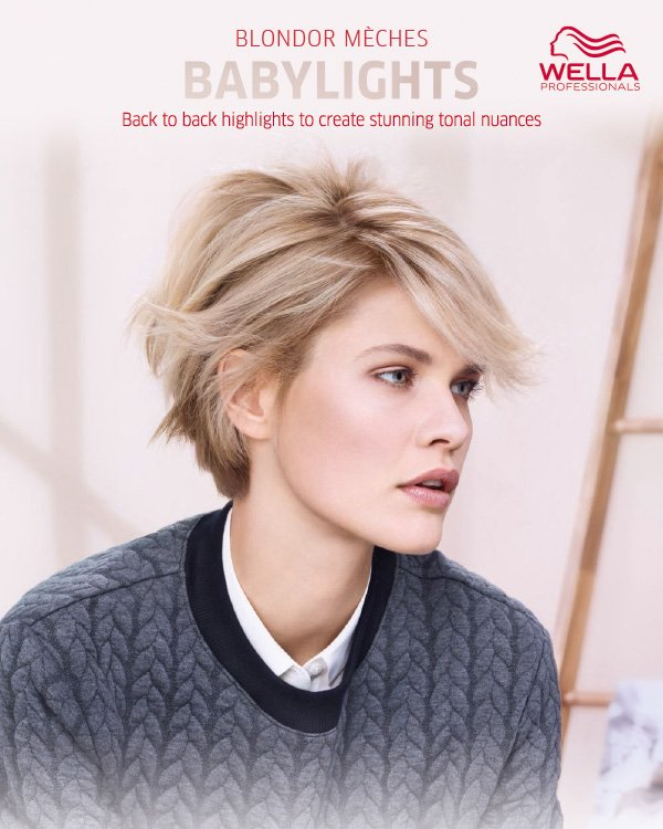 Wella Blondor Meches Babylights - Back to back highlights to create stunning tonal nuances