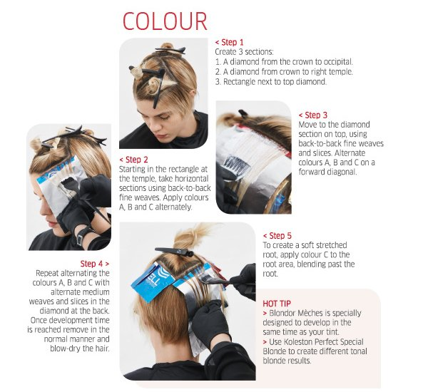Colour - step by step plus hot tip