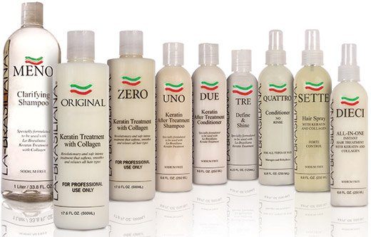la brasiliana keratin products