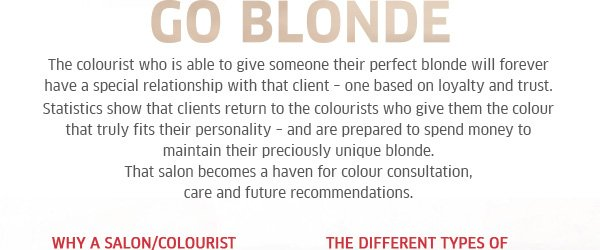 Why your business should go blonde