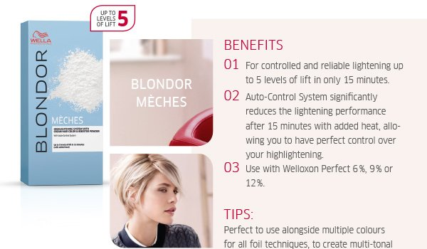 Blondor meches benefits and tips