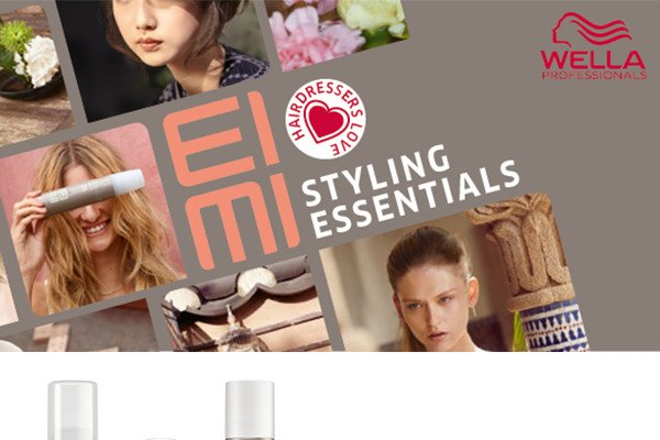 Wella EIMI - Styling essentials