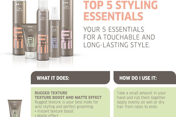 Your 5 essentials for a touchable and long-lasting style