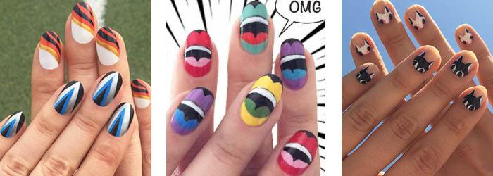 Jessica Washick nails