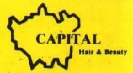 Capital Hair and Beauty logo in the 1980s