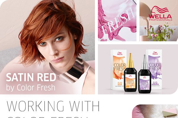Satin Red - by Color Fresh