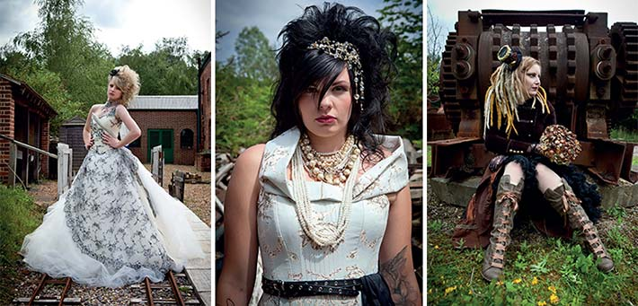 steam punk brides