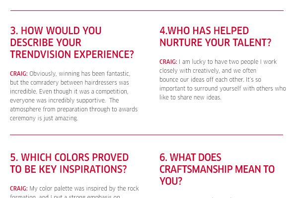 How would you describe your trendvision experience?