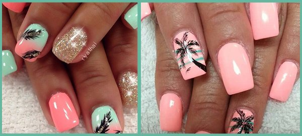 tropical nails collection