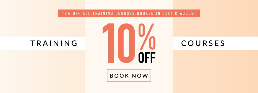 10% off Training Courses