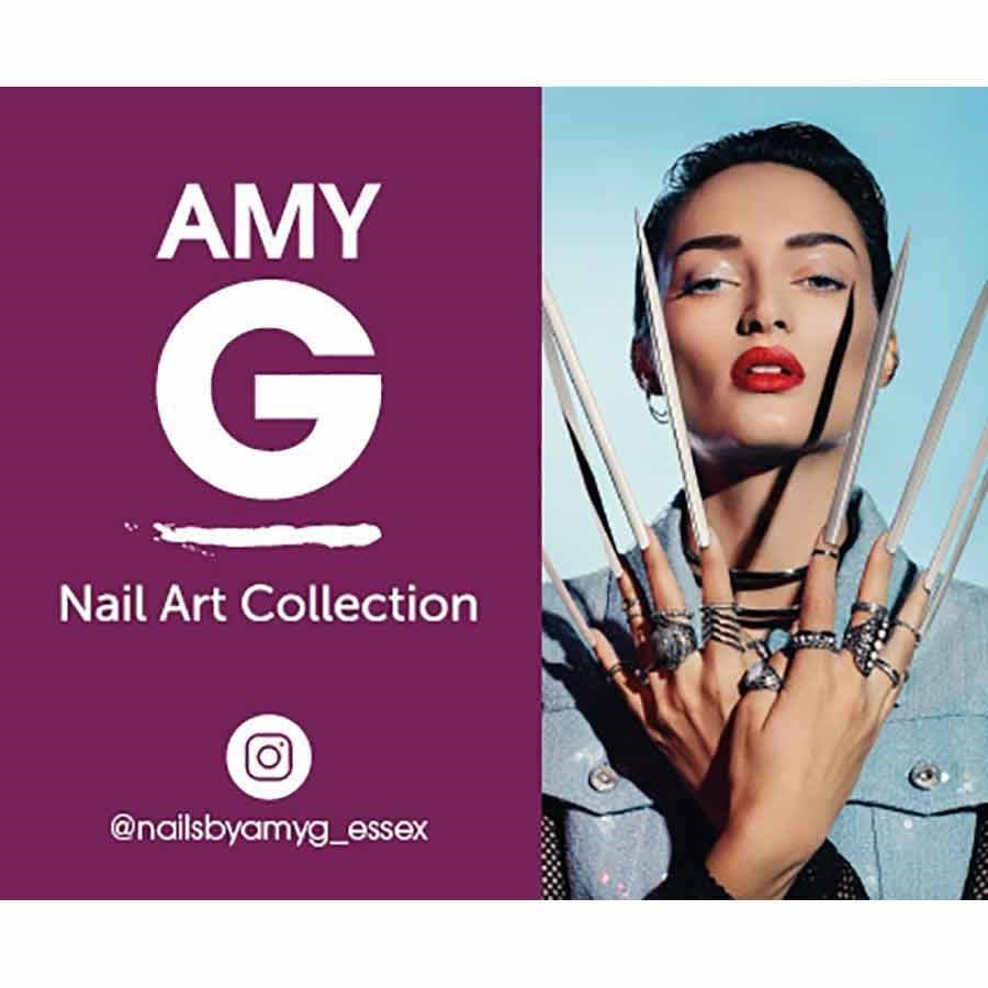 The Edge Nails Amy G Nail Art Collection - Iridescent Nail Sequin ...
