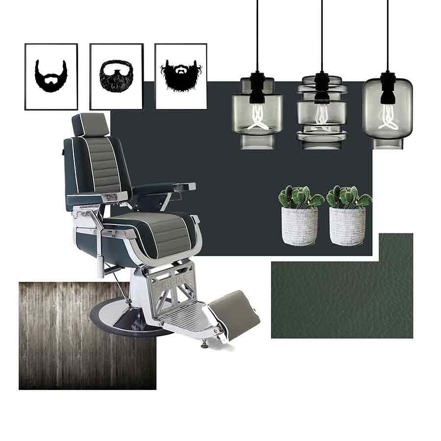 Amazing REM Emperor Barbers Chair GTAlternative Image1