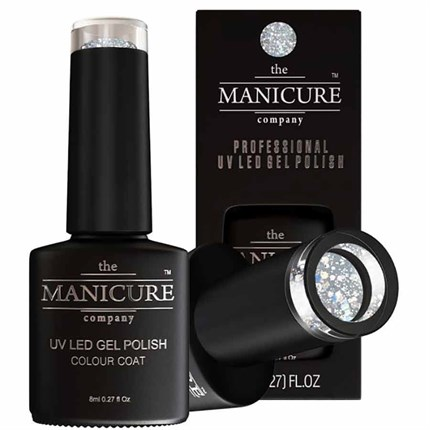 The Manicure Company UV LED Gel Nail Polish 8ml - Crystallized