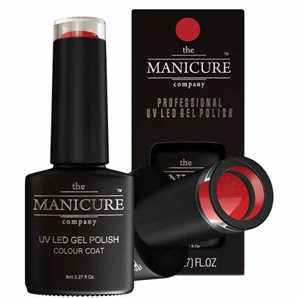 The Manicure Company UV LED Gel Nail Polish 8ml - Red Alert