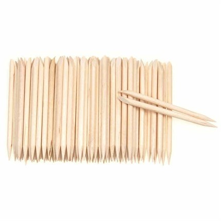 The Manicure Company Orange Sticks - 100pcs/pack
