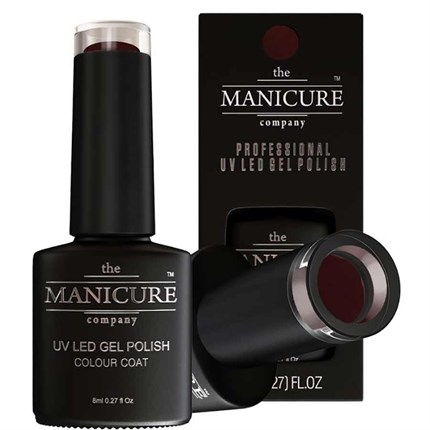 The Manicure Company UV LED Gel Nail Polish 8ml - Black Orchid