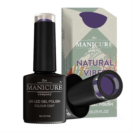 The Manicure Company UV LED Gel Nail Polish 8ml - Damsen Dusk
