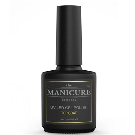The Manicure Company UV LED Gel Polish Top Coat 15ml