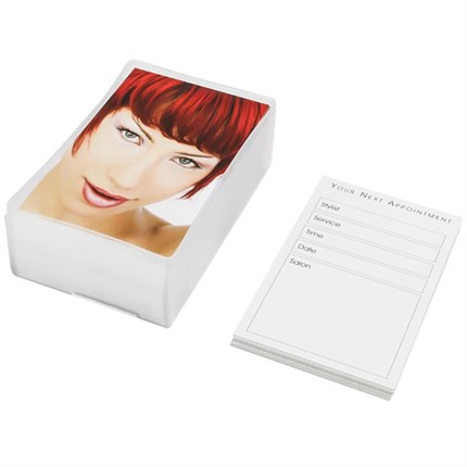 Agenda Appointment Cards (Red Head) x100