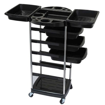 Agenda Ethos Salon Trolley - Black