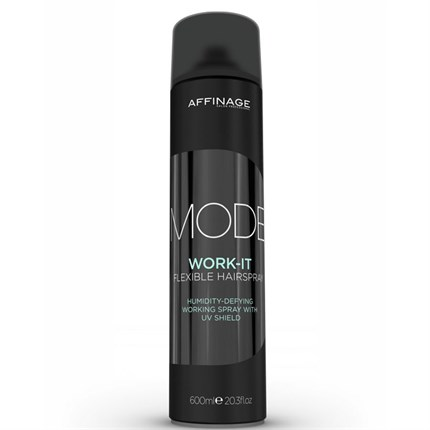 Affinage Mode Work It Flexible Hairspray 600ml