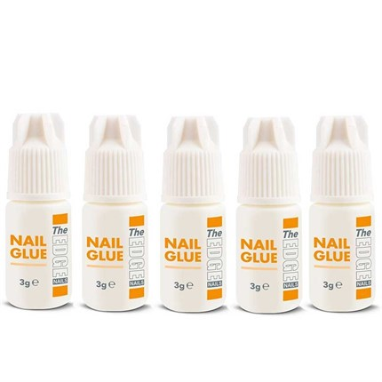 The Edge Nail Glue 3g 5Pk