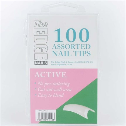 The Edge Active Tips Assorted - 100 Assorted