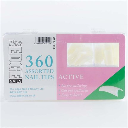 The Edge Active Tips Assorted - 360 Assorted