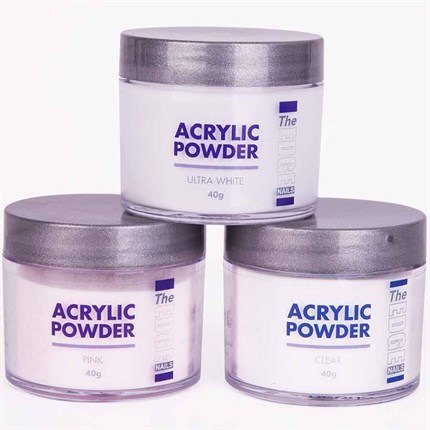 The Edge Acrylic Powder 40g - Clear