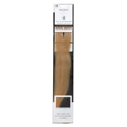 Balmain Fill-In Extensions Natural Straight Hair 45cm 10pcs - 614 A