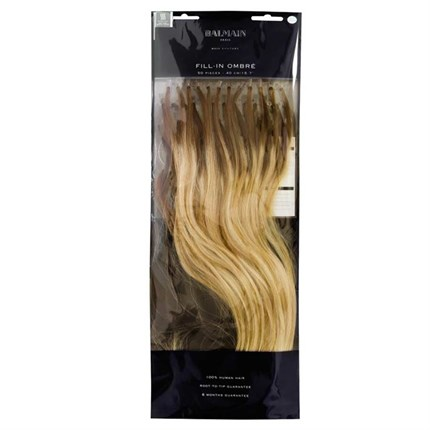 Balmain Ombre Fill-In Extensions Natural Straight Hair 40cm 50pcs - Rio