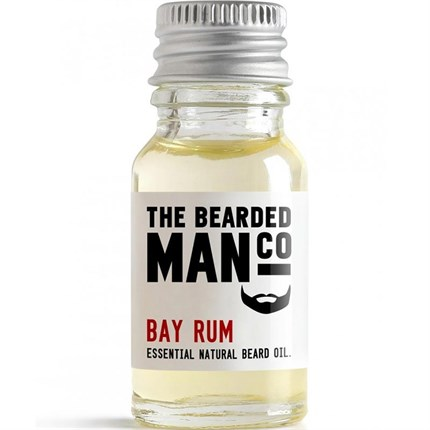 The Bearded Man Beard Oil 10ml - Bay Rum