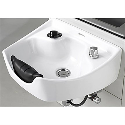 Takara Belmont Majolica Basin With Fittings