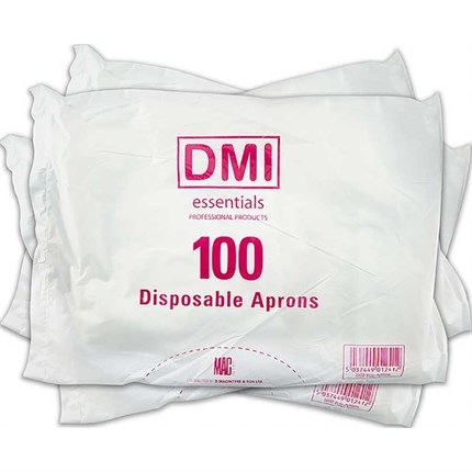 Macintyre Disposable Aprons Pk100 - White