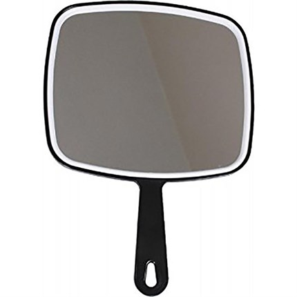 Macintyre Handle Mirror Black