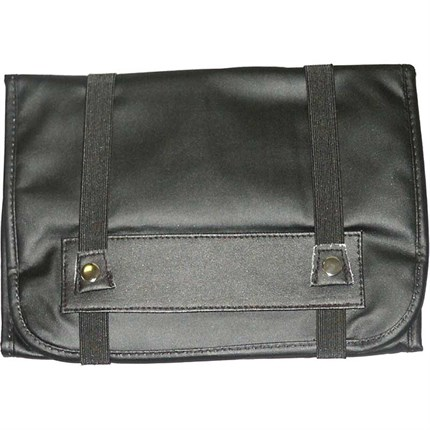 Tool Roll Black Leather Look - Large
