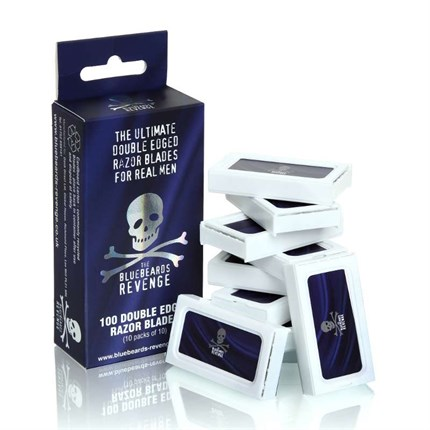The Bluebeards Revenge Safety Razor Blades Pk100 (10x10)