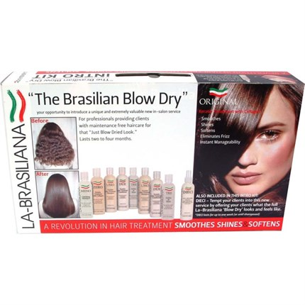 La-Brasiliana Keratin Treatment with Collagen (Trial Intro Pack)