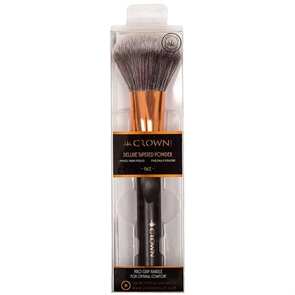 Crown Deluxe Tapered Powder Face Brush